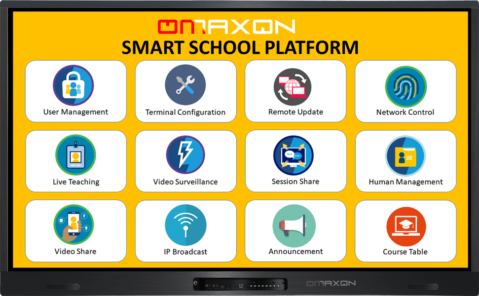 OMAXON Interactive Smart School Management Platform Owner Software-min