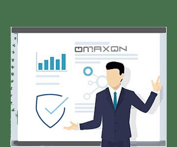 OMAXON Onsite Installment Interactive Flat Touch Panel Teaching Smart Teachers 360x300-min